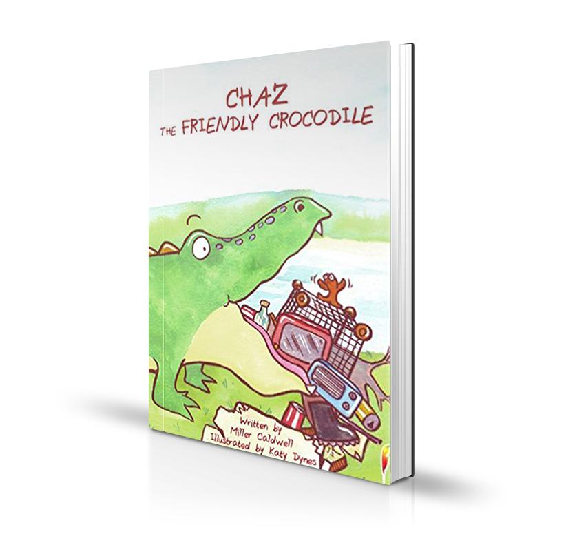 Chaz the friendly crocodile